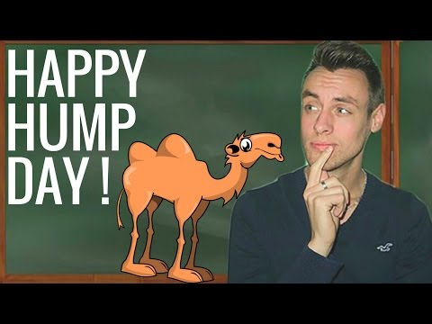 Expression anglaise : Happy Hump Day ça veut dire quoi? - YouTube