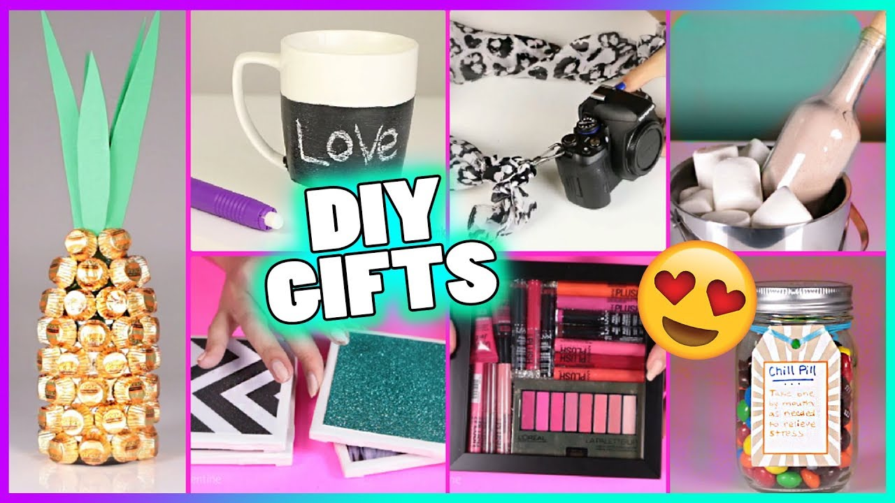 15 DIY Gift Ideas Gifts Christmas Birthday