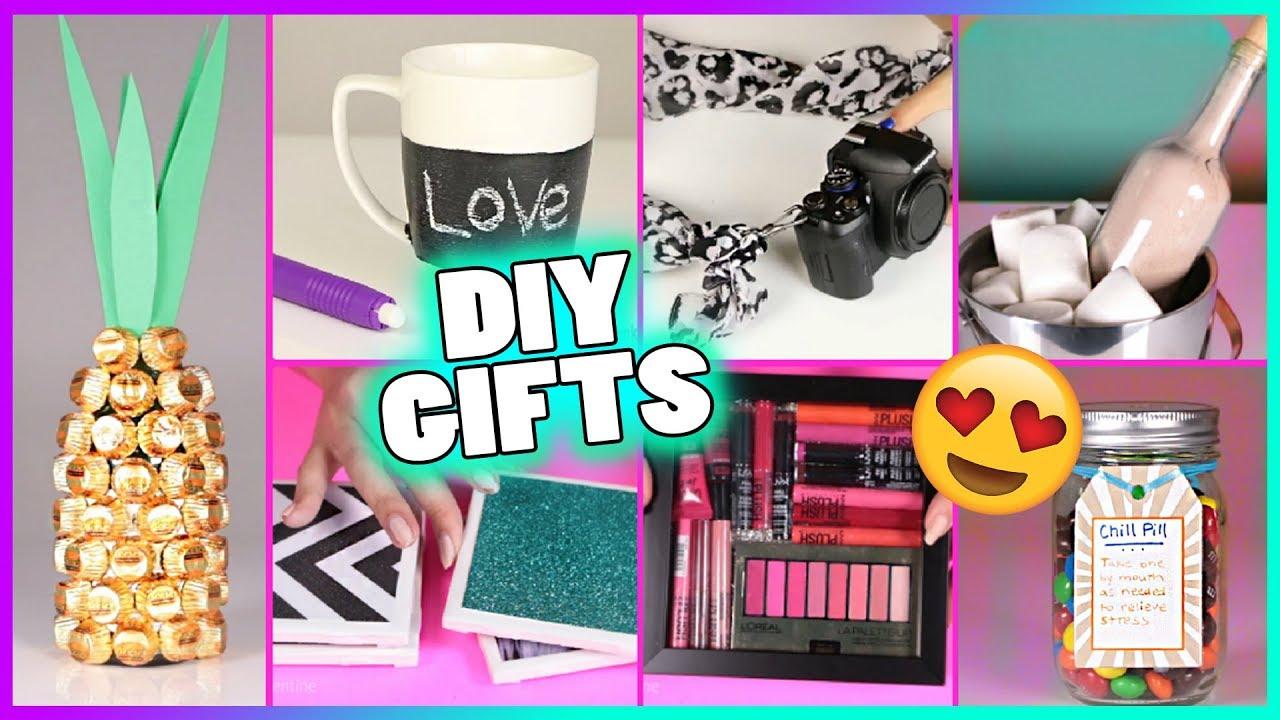 15 Diy Gift Ideas Diy Gifts Diy Christmas Gifts