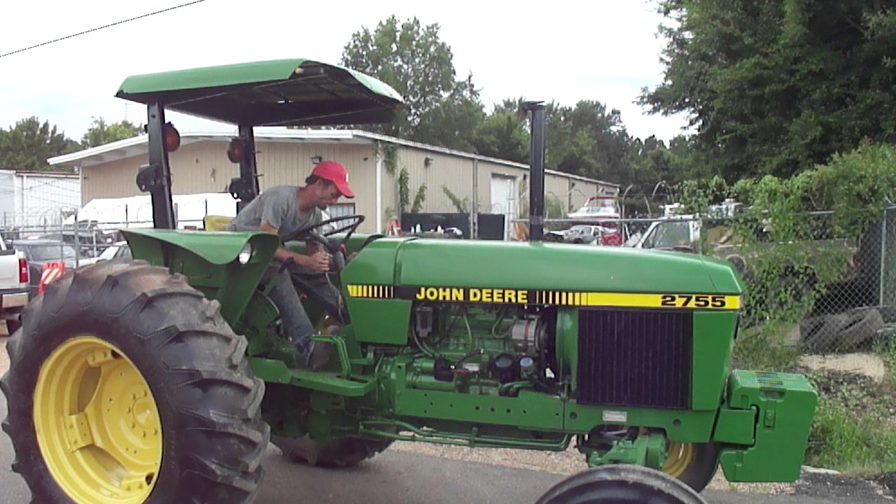 hight resolution of 1992 john deere 2755 demo youtube rh youtube com
