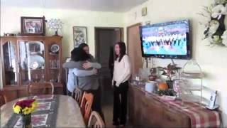 Surprise Thanksgiving Homecoming