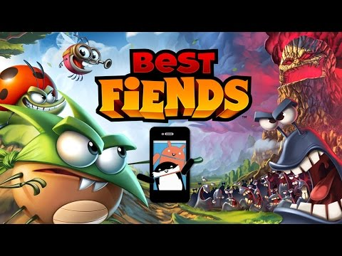 "Best Fiends [Android] ""Букашки Vs Слизни"" с Леммингом и Банзайцем"