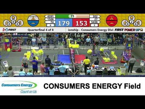 2018 MSC Consumers Energy Field Quarterfinal Match 4