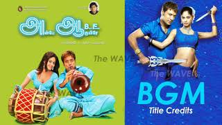 Tamil BGM   Anbe Aaruyire (2005)   Title Credits