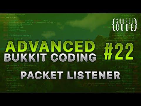Advanced Bukkit Coding - Packet Listener - Episode 22