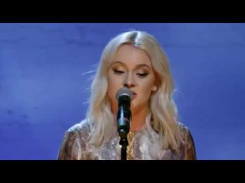 Zara Larsson-Killing Me Softly LIVE.En kväll i New York.