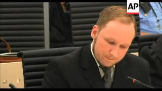 Norway - Mass killer Breivik declared sane and sentenced to prison for attacks / Breivik apologises