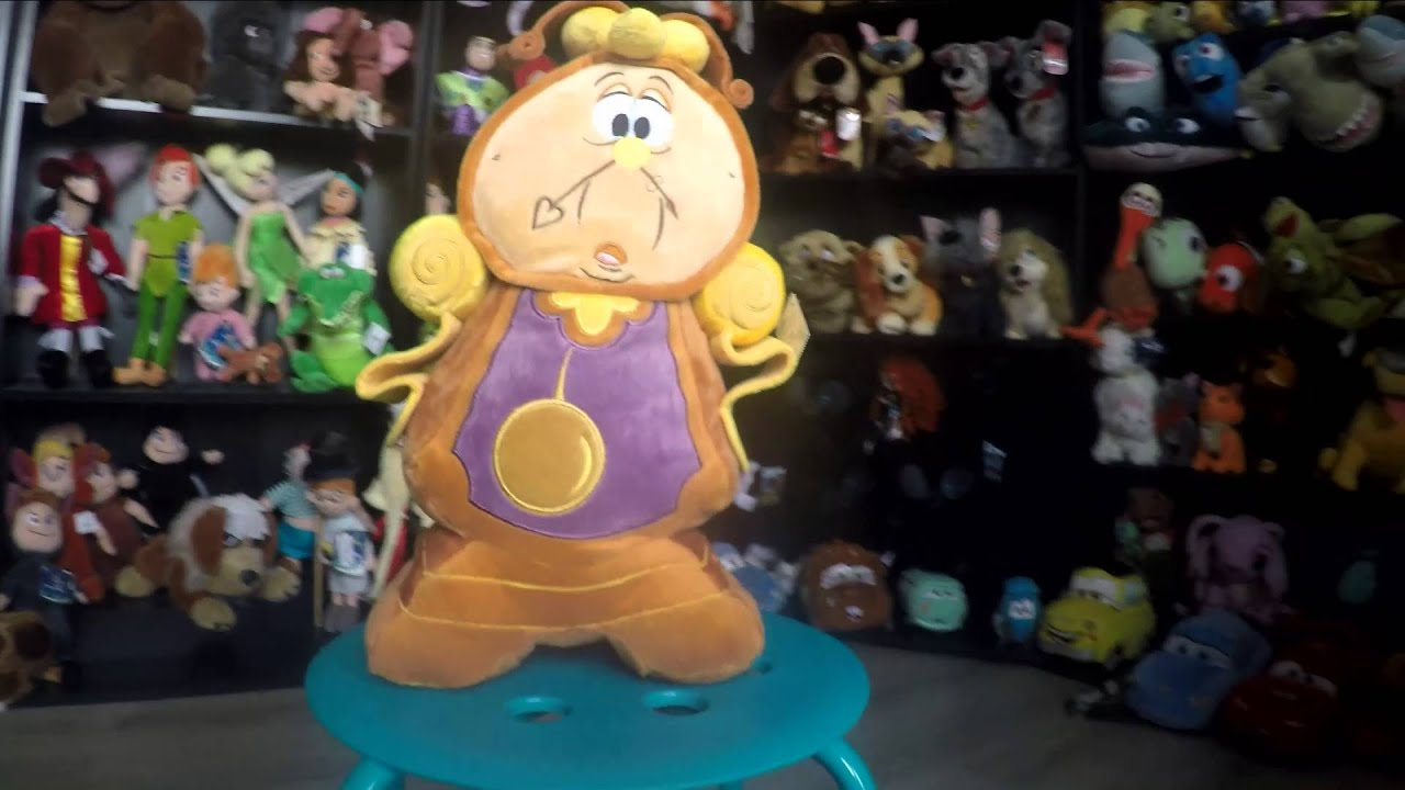 60c50f33173 Beauty and the beast plush collection from the Disney Store - YouTube