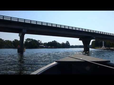 Trent River Boat Trip - Hastings to Campbellford