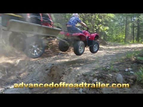 """Advanced Offroad Trailer """"YES IT CAN!"""""""