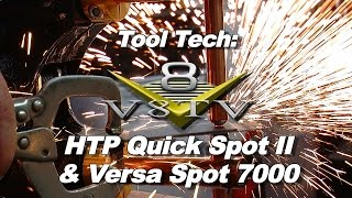 Car Restoration Welding:  How To Use Resistance Spot Welders Video V8TV