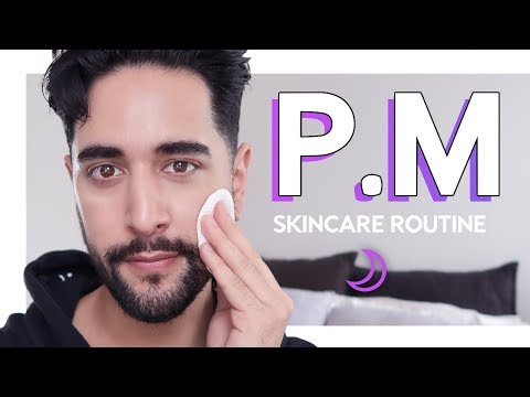 My ACTUAL Evening Skincare Routine - Men's Skincare Routine Oily Skin 2019 ✖ James Welsh
