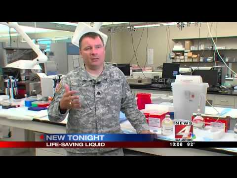 Freeze-dried plasma saves special ops soldiers