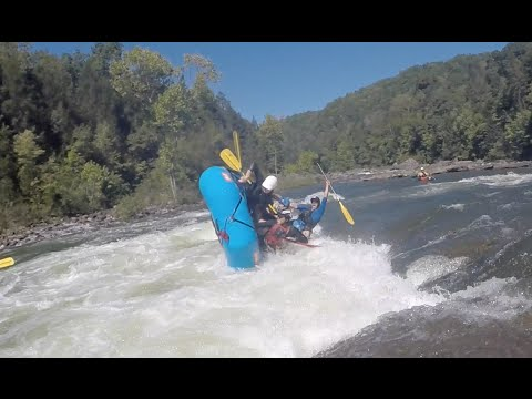 2015 GAULEY RIVER WHITEWATER RAFTING FLIPS / CARNAGE!