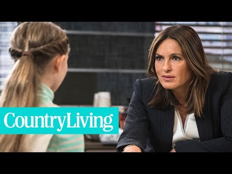 Mariska Hargitay Speaking of the Car Crash That Changed Her Life  Country Living