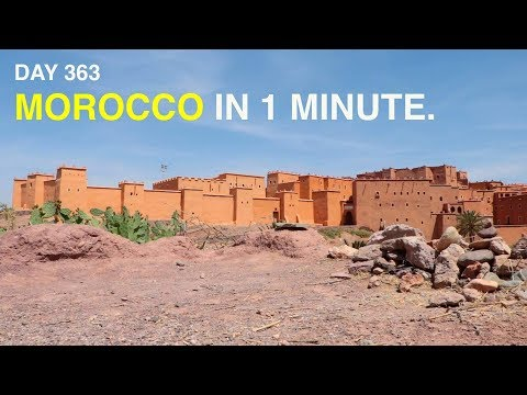MOROCCO IN 1 MINUTE | Nas Daily