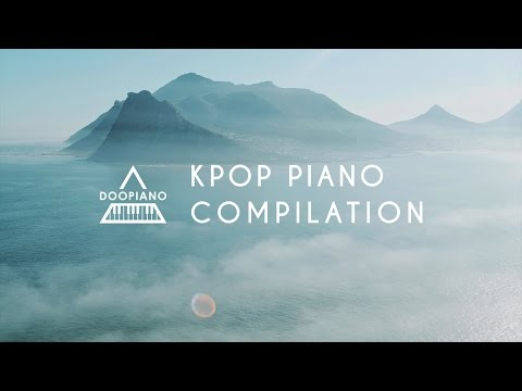 Relaxing Kpop Piano Compilation | 1 Hour Study & Sleep Music