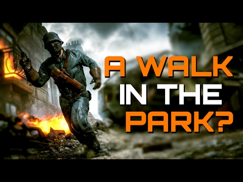 Battlefield 1: A Walk in the Park..? (PS4 PRO Multiplayer Gameplay)