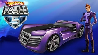 #7 Hot Wheels Battle Force 5 - Video Game - Gameplay - Videospiel - Game - Movie For Kids