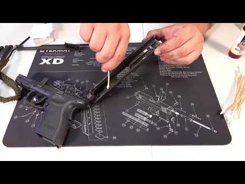 Springfield XD 45ACP 4inch cleaning