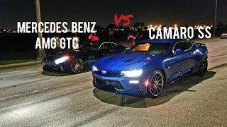 AMG GTC vs Camaro SS vs C6 Zo6 Corvette
