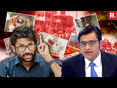 Should Rahul Gandhi Demand The Arrest Of Jignesh Mevani? | The Debate With Arnab Goswami