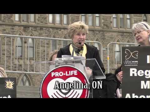 Angelina's 2018 March for Life Ottawa Testimony