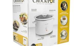 CrockPot 6 QT Round Slow Cooker | 3060-W-NP