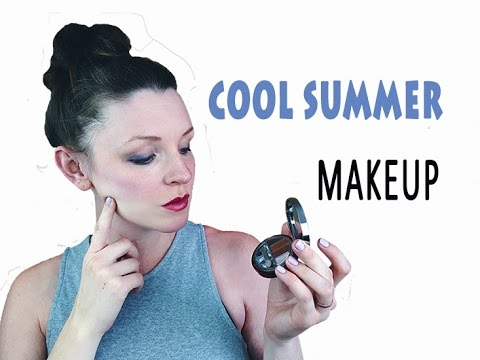 COLOR ANALYSIS | COOL SUMMER MAKEUP