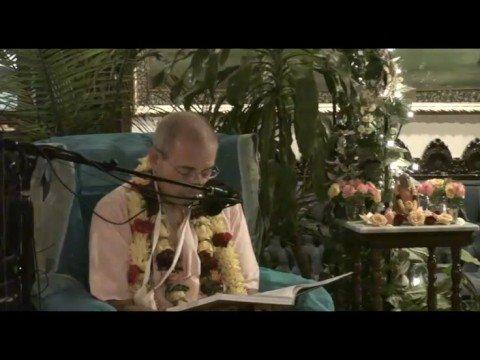 Giriraj Swami Vyas Puja - Giriraj Swami's Offering to Srila Prabhupada - 7of11