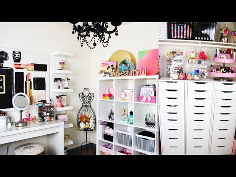 Beauty Room Tour 2017