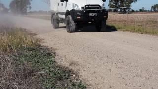 Iveco Daily 4x4 55S17W w brake upgrades  -  test 1