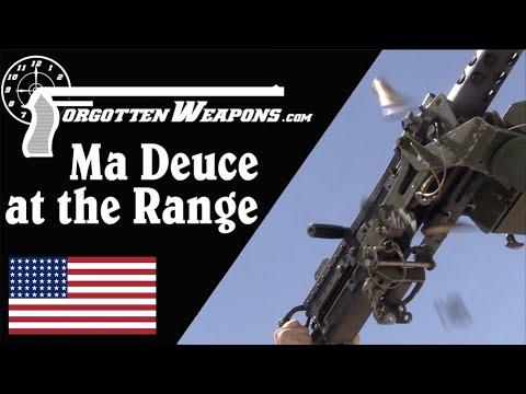Browning M2HB .50 BMG at the Range
