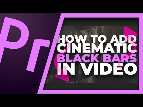 How To Properly Add Black Bars In Videos | Cinematic Bars