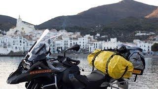 BMW R1200 GS ADVENTURE 2014   En moto desde Barcelona a Asturias #1