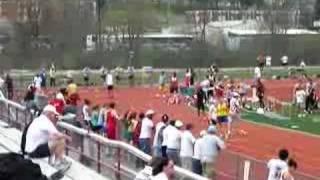 Roger Kingdom 100m dash @ IUP