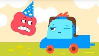 Мультфильм про машинки -  Грузовичок Пик - Невоспитанный черепашонок +Клад - для самых маленьких