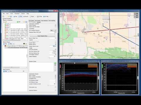 CRFS Software Simulation tools: Part 4 (Geolocation in the presence of a jammer)
