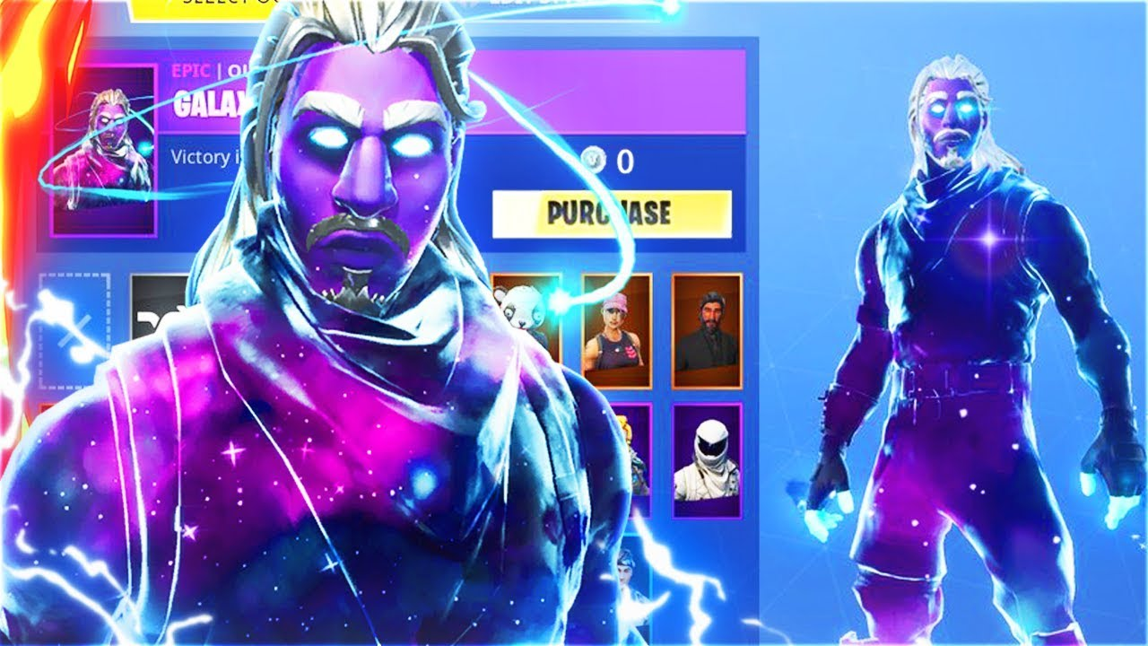 How to unlock free galaxy skin bonus in fortnite battle royale secret fortnite skin youtube - Fortnite galaxy skin free ...