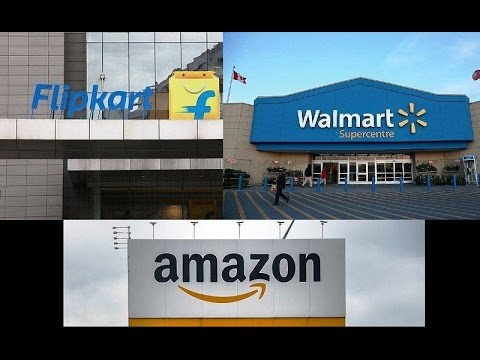 Walmart Invests in Flipkart | Plans To Gang up on Amazon