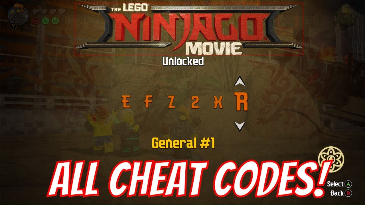 The LEGO Ninjago Movie <b>Video Game</b> All <b>Cheat Codes</b> &amp; How To Find ...