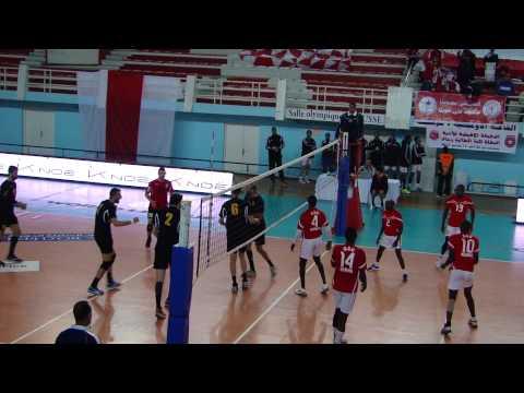 Bourj Bouaririj Algeria v GSU Kenya at 2015 Men's African Club Championship