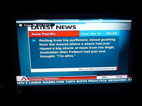 Channel News Asia - Latest News/Full Page Headlines overnight filler (March 2012)
