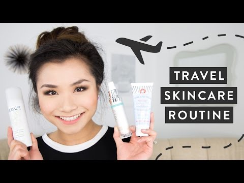 Travel Skincare Routine   Flying Beauty Essentials and Tips   Miss Louie