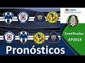 Pronosticos Semifinales Ap2018 Liga Mx | G⚽️L