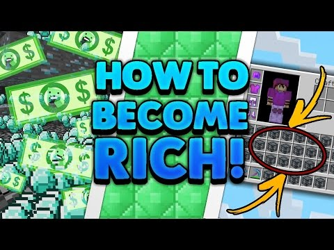 TOP 10 WAYS TO MAKE MONEY FAST IN SKYBLOCK | (Minecraft Tutorial!) thumbnail