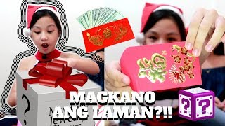 Mystery Christmas Gifts | Angpao Haul!! ni Aurea | Vlogmas Day 25 | Aurea & Alexa