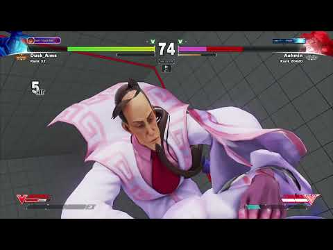 Dusk_Aims showing how amazing his FANG is! SFV Season 2 Matches