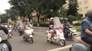 PIAGGIO CLUB INDONESIA - Last Sunday Ride 2014