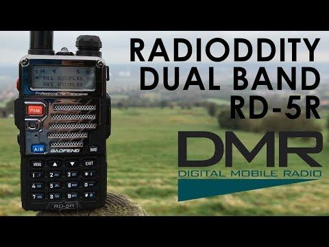 Radioddity Baofeng RD-5R - Long Range DMR Simplex & Audio Test